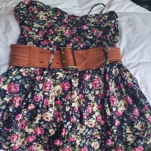 Womens belted  dress